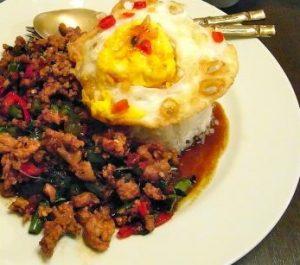 タイ料理ダーラガパオ