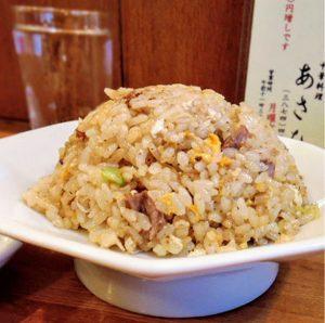 浅草の人気中華ラーメンあさひの炒飯