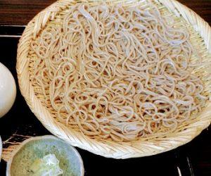 浅草にある人気そば屋のおざわのざる蕎麦