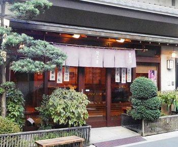 浅草の和菓子店徳太樓とくたろうの外観