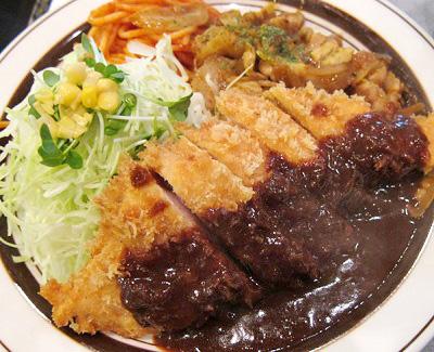 東京都豊島区西池袋にある洋食屋キッチンABC西池袋店のとんかつ