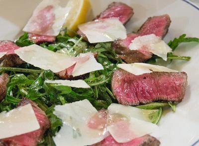 渋谷駅近くにあるイタリアントラットリア シチリアーナ・ドンチッチョの肉