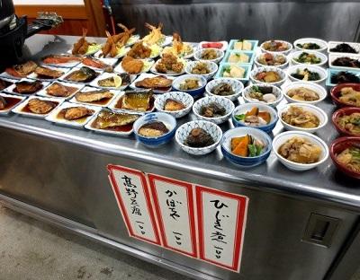 大阪府堺市にある食堂銀シャリ屋ゲコ亭の内観