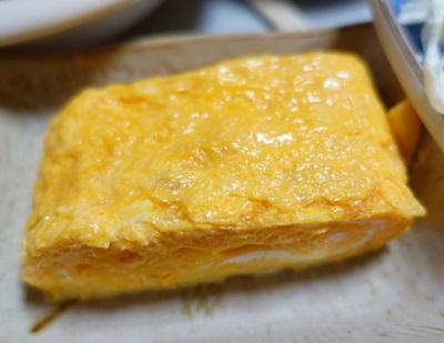 大阪府堺市にある食堂銀シャリ屋ゲコ亭の玉子焼き