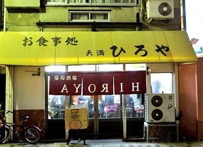 大阪府大阪市北区にあるイタリアン裏ヒロヤの外観