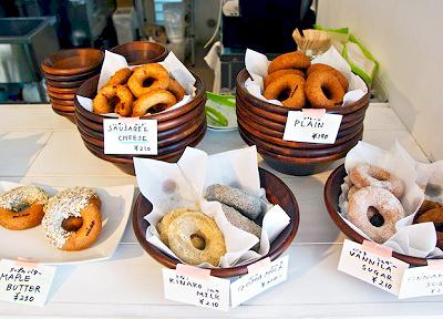 神奈川県鎌倉市にあるホアカフェ(HoaCafe)のドーナツ