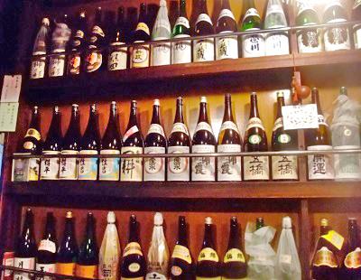 東京駅八重洲口近くにある日本酒居酒屋ふくべの日本酒
