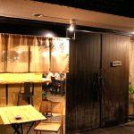 大阪中之島駅近くにあるイタリアン文世食堂の外観