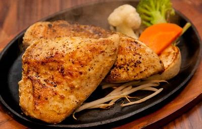 筋肉食堂鶏ステーキ