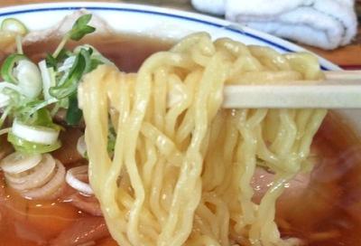 東京都築地にあるラーメン屋井上いのうえの麺