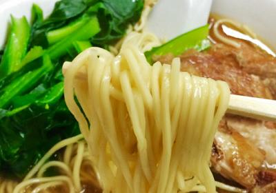 横浜中華街にある広東料理のお店海員閣カイインカクの牛ばら麺