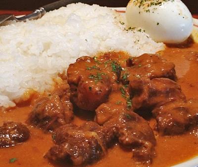 東京都恵比寿駅西口にあるカレーが人気のお店吉柳キリュウのスパイスカレー