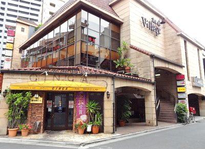 東京都港区六本木にある人気中華料理店香妃園の外観昼
