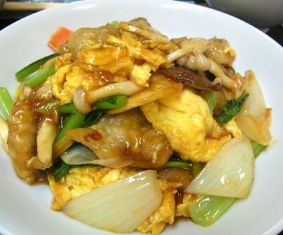 大阪南森町駅近くにある中華料理中国菜香味の卵炒め