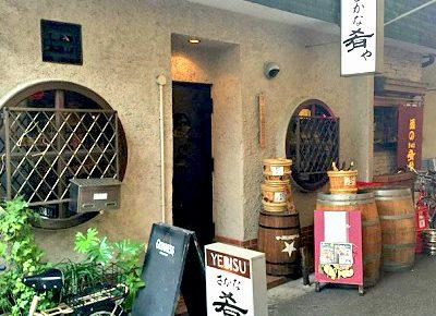 大阪市天満駅近くにある立ち飲み居酒屋肴やの外観