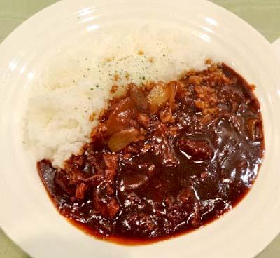 福岡天神駅近くにある洋食屋レストラン達のハヤシライス