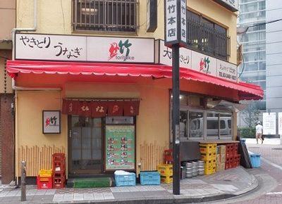 東京都渋谷駅西口にある焼鳥居酒屋鳥竹総本店の外観
