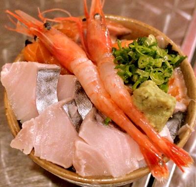 大阪市天満駅近くにある居酒屋とっつぁん天満店の海鮮