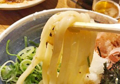 福岡市博多区洲川端駅近くにあるうどんが人気の居酒屋つきよしの麺