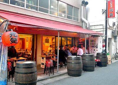 秋葉原駅近くにある居酒屋やきとん元気の外観