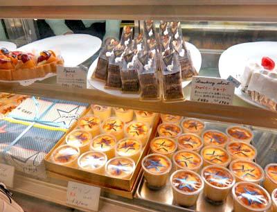 日本橋駅近くにある純喫茶アメリカンのショーケース
