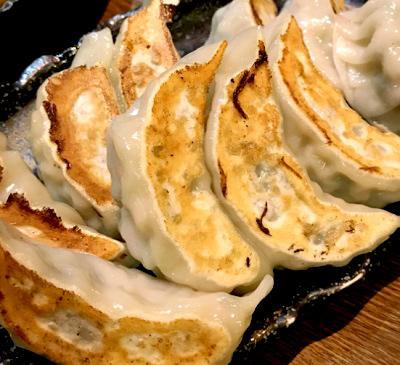 市ケ谷駅近くにある中華料理安安餃子房の餃子