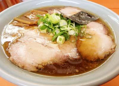 西武柳沢駅近くにあるラーメン店支那そばあおばのチャーシューメン