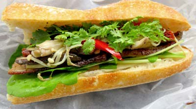 代々木公園駅近くにあるカフェCamelback sandwich&espressoのサンドイッチ