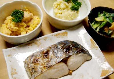 大阪難波駅近くにある定食屋大黒の定食