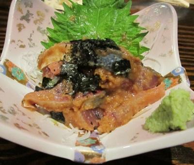 祇園駅近くにある居酒屋博多べいのごま鯖