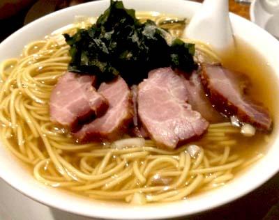 武蔵境駅近くにある四川料理店好好のラーメン