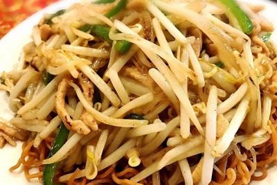 有楽町駅近くにある広東料理屋慶楽のもやしそば