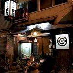千鳥橋駅近くにある居酒屋金生の外観