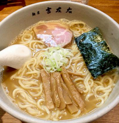 東京都江東区にあるラーメン麺屋吉左右のラーメン