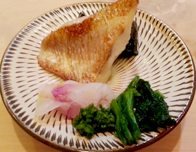 祇園駅近くにある小料理屋小谷の焼魚