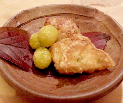 祇園駅近くにある小料理屋小谷の天ぷら