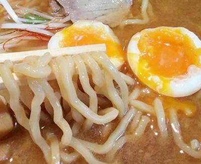 西国分寺駅近くにあるらーめん熊祥の麺