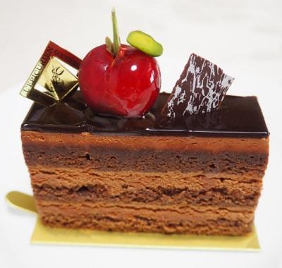 吉祥寺駅近くにあるカフェレピキュリアンのチョコケーキ