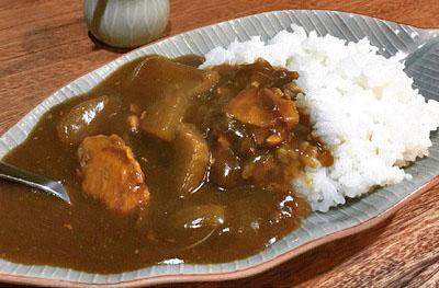 豊島区にあるナニコレ食堂のカレーライス