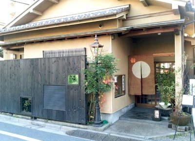 中村橋駅近くにあるそば屋玄蕎麦野中の外観