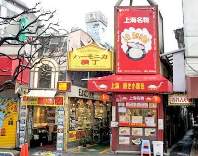 吉祥寺駅近くにあるインドカレーピワンのあるハーモニカ横丁