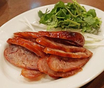 渋谷駅近くにある台湾料理屋麗郷の腸詰め
