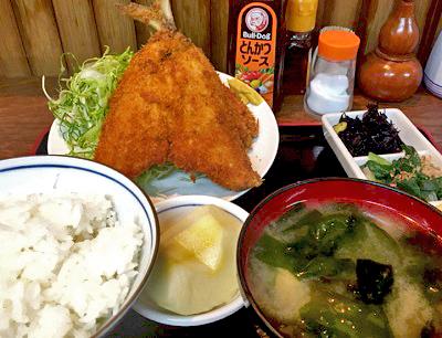新馬場駅近くにある居酒屋酒菜の定食