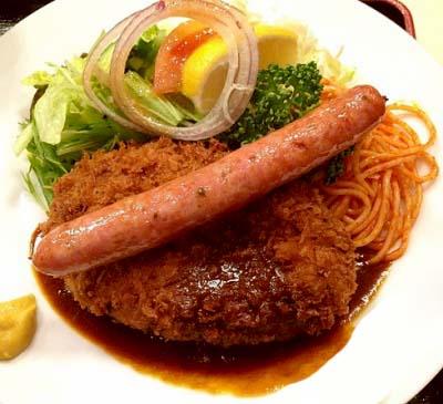 清瀬駅近くにある洋食店キッチンスズキのコロッケ