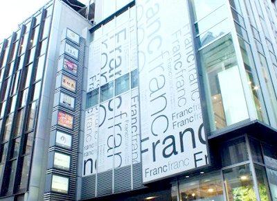 渋谷駅近くにあるしゃぶしゃぶ但馬屋渋谷店のビル