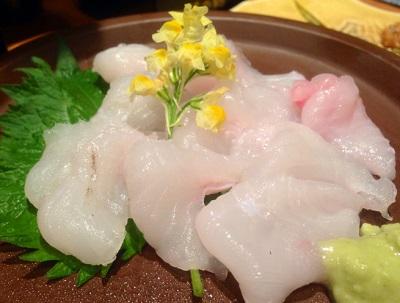 博多駅近くにある創作料理たくまんまの刺身