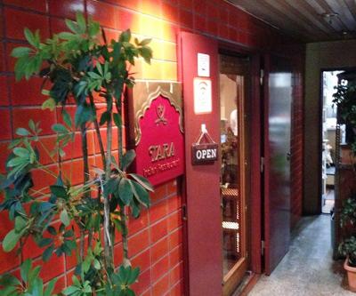 池上駅近くにあるインド料理ターラの入口
