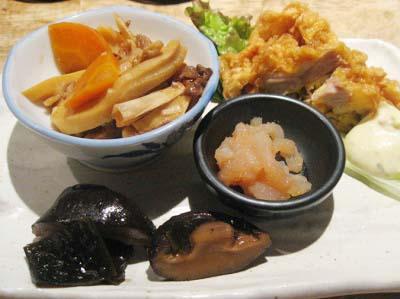 博多駅近くにある郷土料理わらびのコース料理