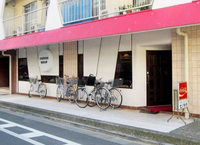 東京都板橋区にあるパンケーキが有名な喫茶店ピノキオの外観