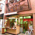 大阪市北区にある人気たこ焼き店うまい屋の外観